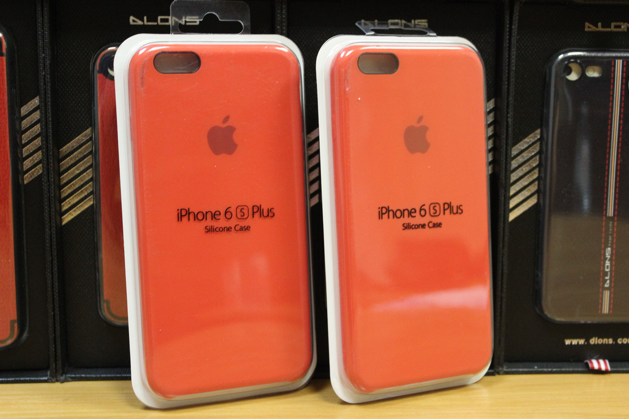 Силикон original iPhone 6s Plus copy