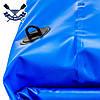 Водонепроницаемый гермомешок для водного туризма 60л гермосумка ПВХ MEHLER гермомешок для дайвинга съемн/лямки, фото 3