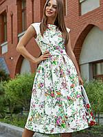 Жіноче літнє жакардове плаття (3575-3562-3576-3574-3564 svt)