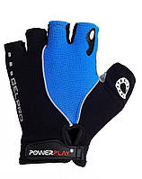 Велоперчатки PowerPlay 5019C M Black-Blue