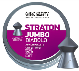 Пули пневматические JSB Diabolo Straton Jumbo 5.5,1.03,500шт