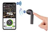 Бездротові Bluetooth-навушники i7S TWS 2 шт з кейсом для зарядки Black, фото 6