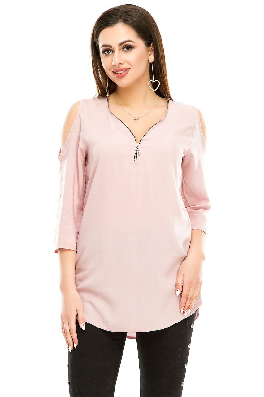 Блузка 300 розовая