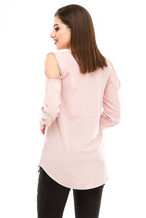 Блузка 300 розовая, фото 2