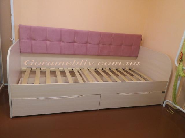 """На фото: детская кровать """"Л-7"""" Лион (фото наших покупателей)"""