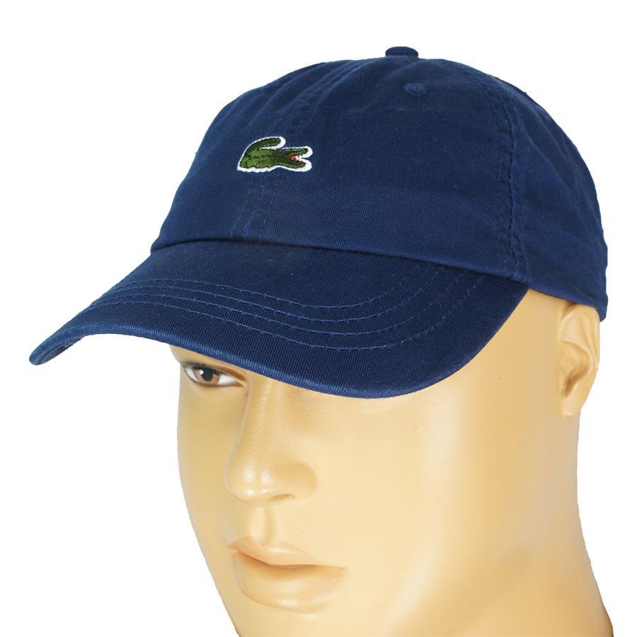 Бавовняна чоловіча кепка в стилі L 0250 d.blue темно-синього кольору