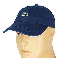 Бавовняна чоловіча кепка 0250 d.blue темно-синього кольору
