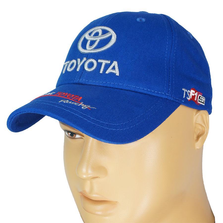 Синя чоловіча бавовняна кепка 0250 blue