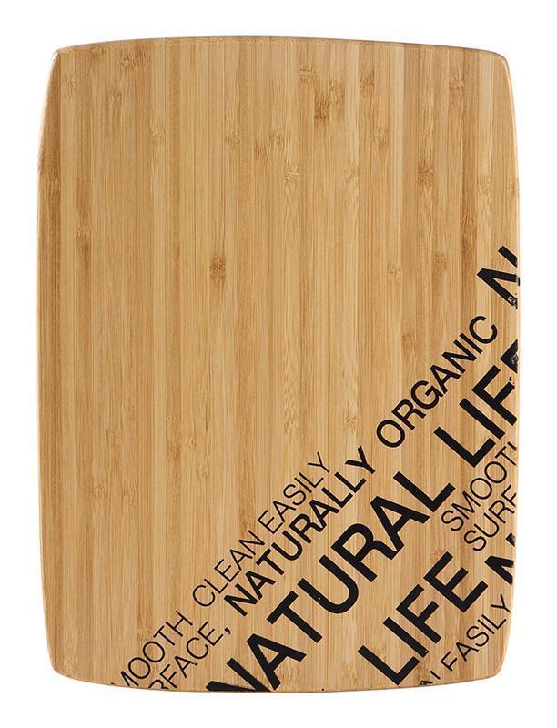 Доска разделочная Bergner Natural Life 30х22см бамбук