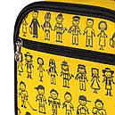Термосумка КЕМПІНГ Ланч-бокс СА-10 + контейнер харчової (4л), жовта, фото 5