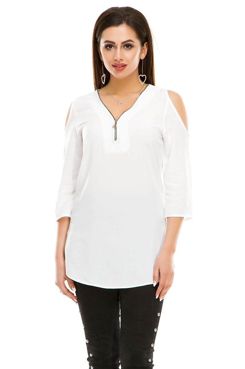 Блузка 300 белая