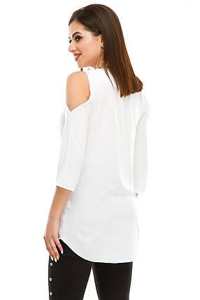 Блузка 300 белая, фото 2