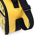 Термосумка КЕМПІНГ Ланч-бокс СА-10 + контейнер харчової (4л), жовта, фото 6