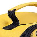 Термосумка КЕМПІНГ Ланч-бокс СА-10 + контейнер харчової (4л), жовта, фото 8