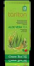 Чай зеленый пакетированный Тарлтон Aloe Vera со вкусом алоэ вера 25 пак х 2 г, фото 2