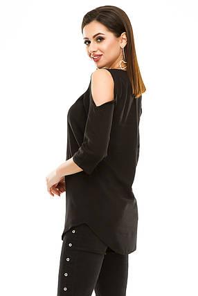 Блузка 300 черная, фото 2