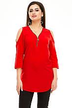 Блузка 300 красная