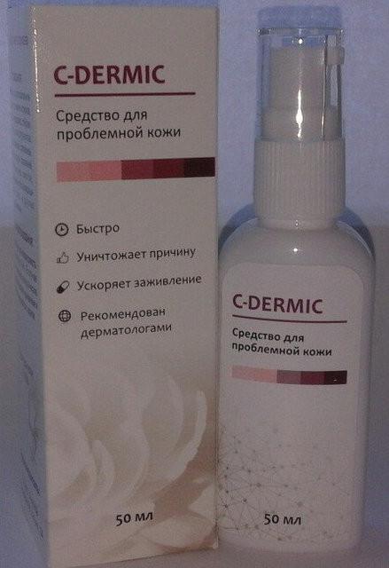 C-dermic - гель от псориаза (С-Дермик)