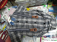 Нарядный детский боди для мальчика  р.62 - 80см