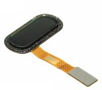 Шлейф для OnePlus 2 (A2003), с сканером отпечатка пальца, черного цвета