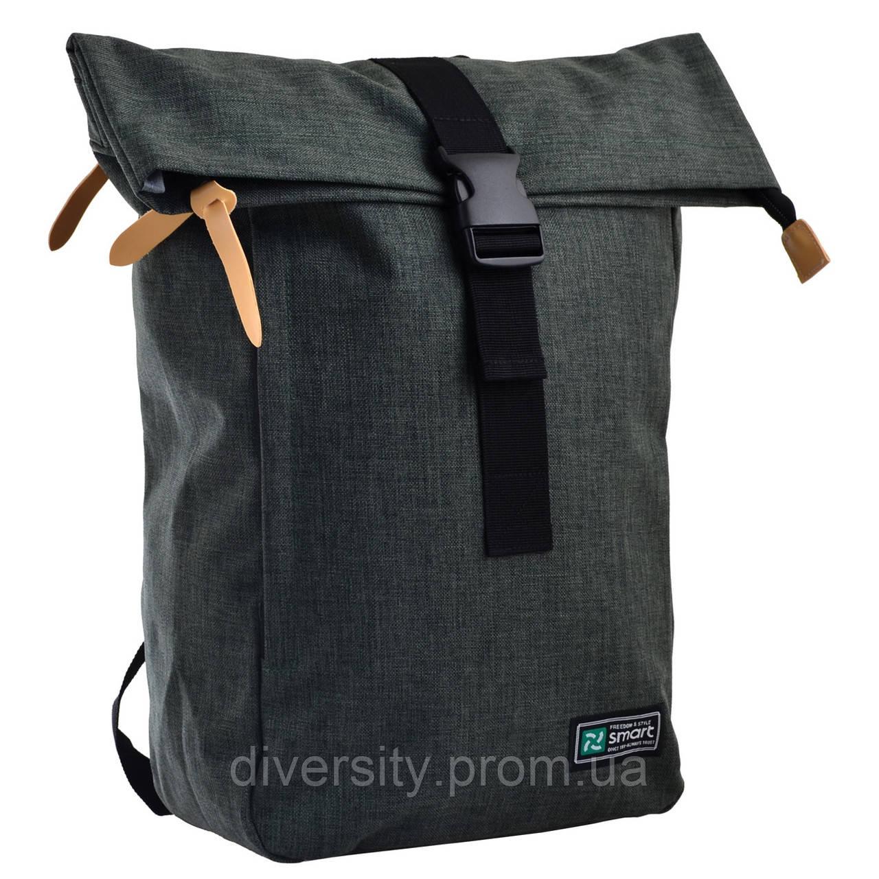 """Городской рюкзак Roll-top T-70 """"Grun"""" 557590"""