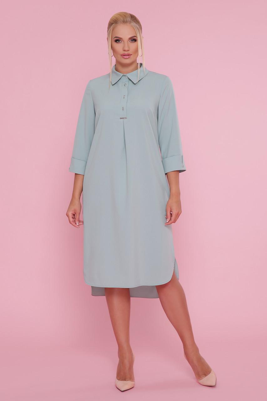 Платье рубашка с 50 по 56 размер