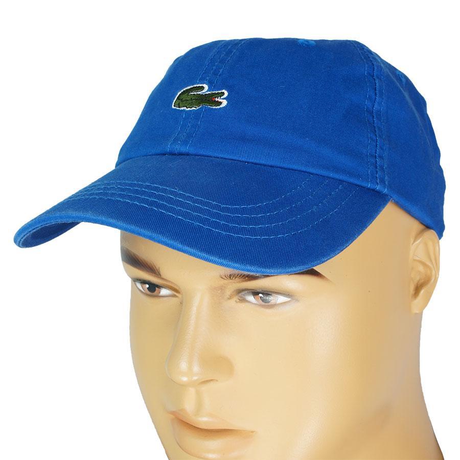 Синяя летняя бейсболка 0250 blue для мужчин