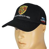 Черная мужская кепка PORSCHE 0250 black для мужчин