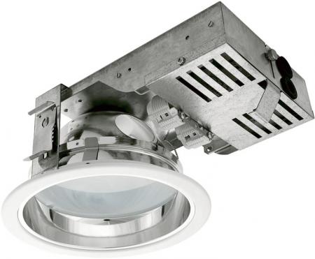 Встраиваемый потолочный светильник ОМS Downlight 202 б/у с лампами в комплекте!