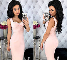 Женское приталенное платье , фото 2