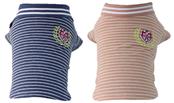 Клубная футболка  Dog Club для собак Добаз, Dobaz размер XS 21/31/20см, цвет - крем-розовый