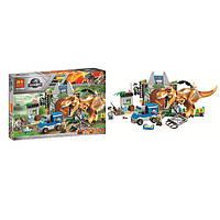 """Конструктор/ Лего Bela 10920 """"Побег Ти-Рекса"""" (аналог Lego Juniors 10758), 168 дет"""