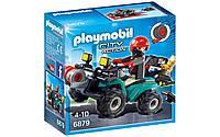 Playmobil 6879 грабитель с квадроциклом