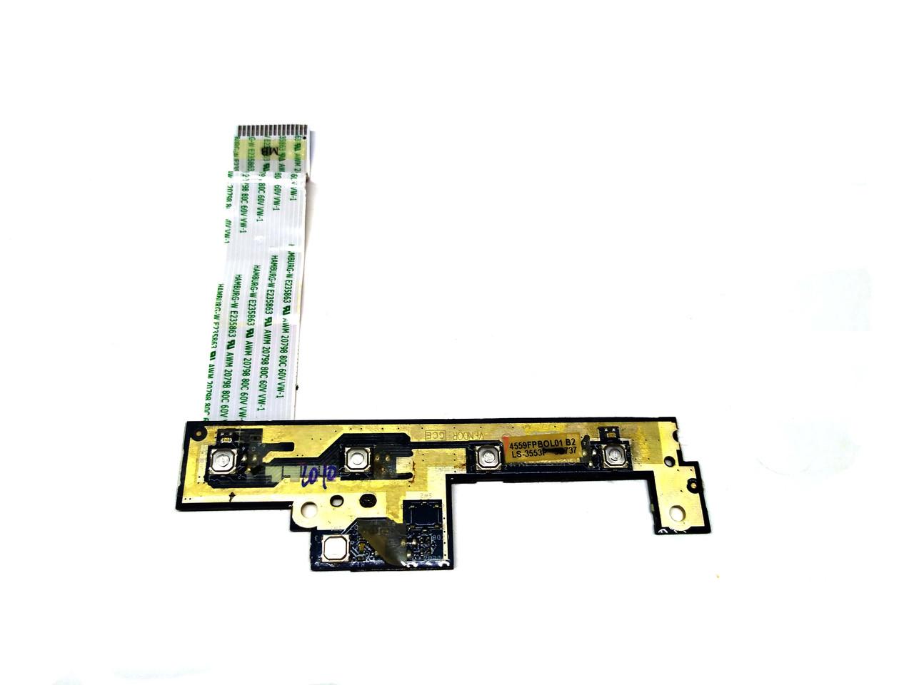 Плата дополнительных горячих кнопок для ноутбука Acer 5720