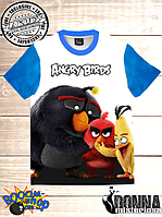 Футболка 3D Angry birds Три товариша, фото 1
