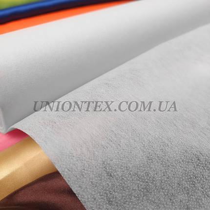 Флизелин клеевой точечный белый, ширина 90см, фото 2