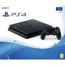 Игровая приставка Sony PlayStation 4 Slim 1TB Black + God of War PS4 Slim