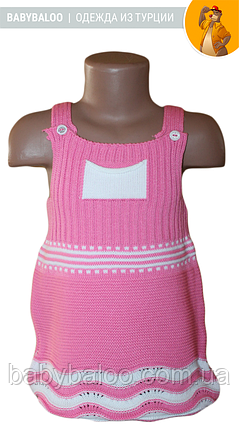 Сарафан-туника вязанная для девочки (от 1 до 4 лет), фото 2