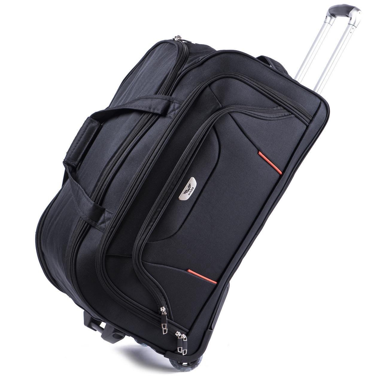Дорожная сумка Wings 1056 Размер (S) Чёрная