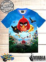 Футболка 3D Angry birds Вперед!, фото 1