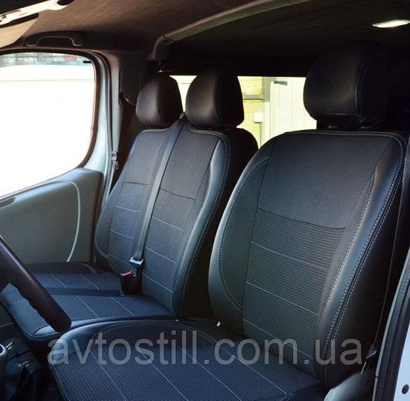 Чохли на сидіння Renault Trafic   Рено Трафие (2001-2014)