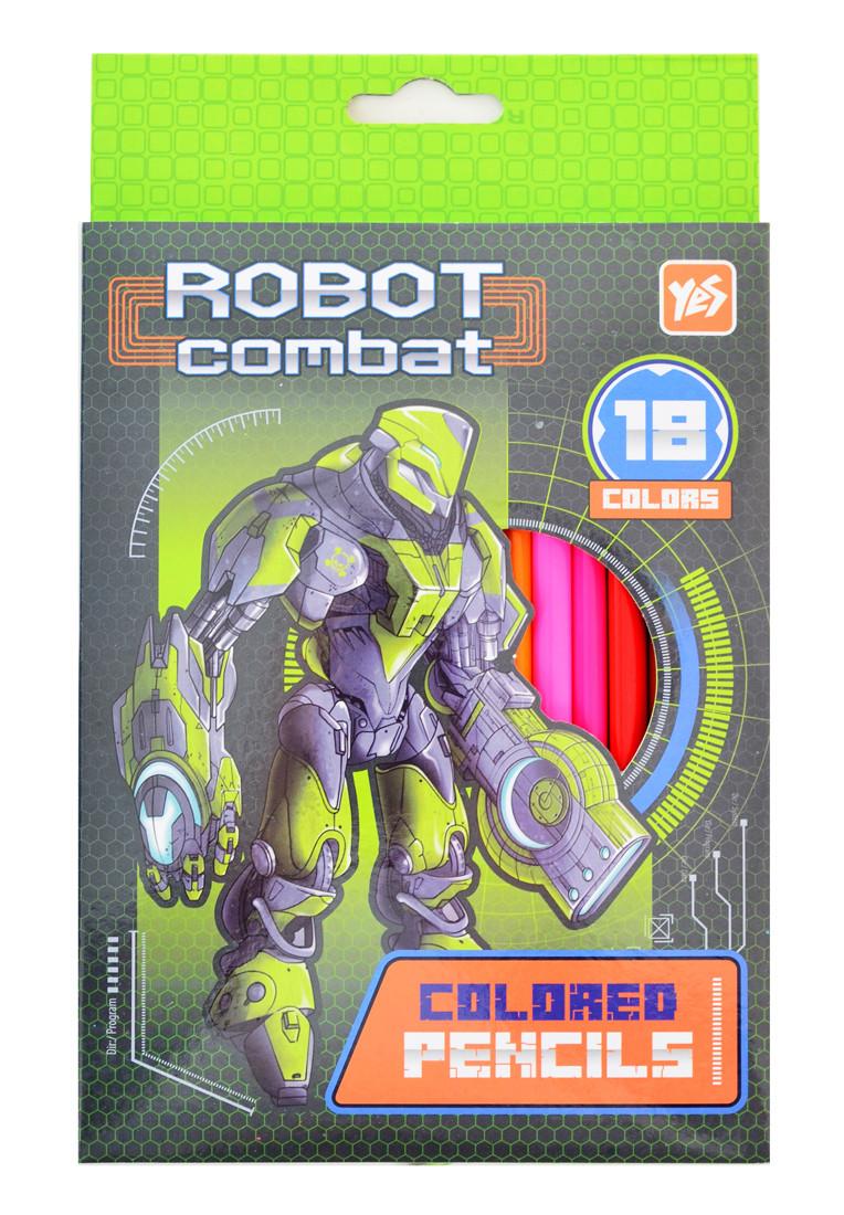"""Олівці 18 кольорів """"Cyber-dron"""""""