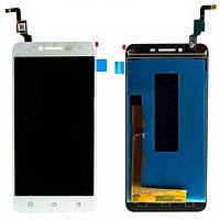 Модуль (дисплей + сенсор) Lenovo K5 / A6020a40 + Touchscreen Orig White