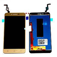 Модуль (дисплей + сенсор) Lenovo K5 / A6020a40 + Touchscreen Orig Gold