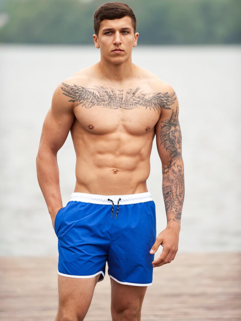 Плавательные шорты мужские BeZeT Aqua синий