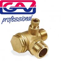 Обратный клапан для компрессора 1/2x1/2, GAV (Италия)
