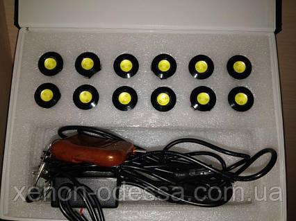 Дневные Ходовые Огни Орлиный Глаз стробоскоп + пульт / DRL Eagle Eyes (16 режимов), фото 2