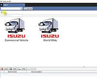 Установка программы Isuzu EPC каталог запчастей к технике Исузу