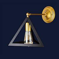 Светильники бра в стиле лофт 756W220F-1 GD+BK