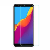 Защитное противоударное стекло для телефона Huawei Y9 2018 (Хуавей, стекло, стекло для смартфона)